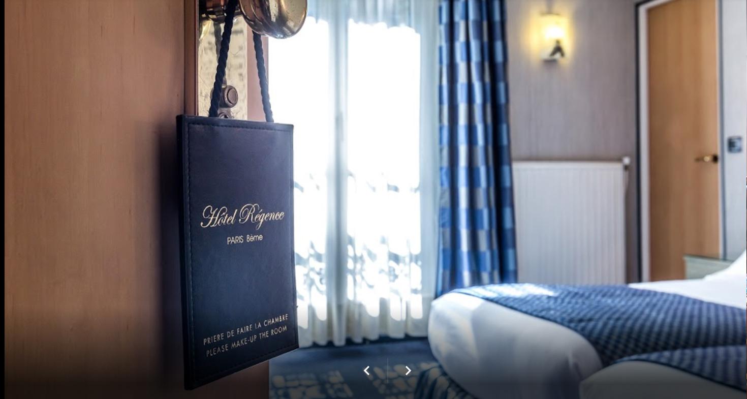 image Slide 01 Promotion le Régence Hôtel Paris